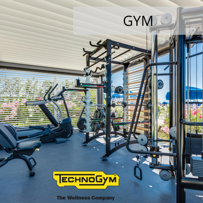 4-star hotel in Jesolo with gym