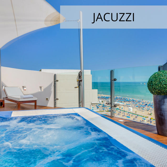 4-star hotel in Jesolo with Jacuzzi