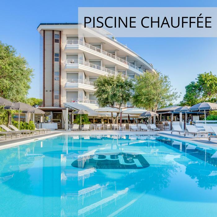 Hôtel 4 étoiles in Jesolo avec piscine