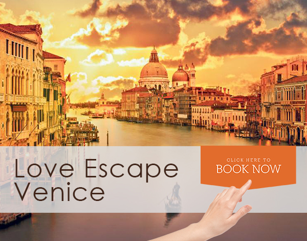love escape offerta venezia